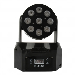 LED Wash 9x8W RGBW Moving Head Beleuchtung Professionelle Beleuchtung