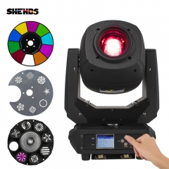 LED 230W Spot Zoom Zwei GOBO Farbplatten Moving Head DMX512 Professionelle Stage Dj Disco Beleuchtung