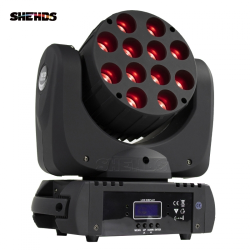 HEISS! LED Beam 12x12W RGBW Moving Head Beleuchtung DMX512 Gut für Patry DJ Disco Konzert